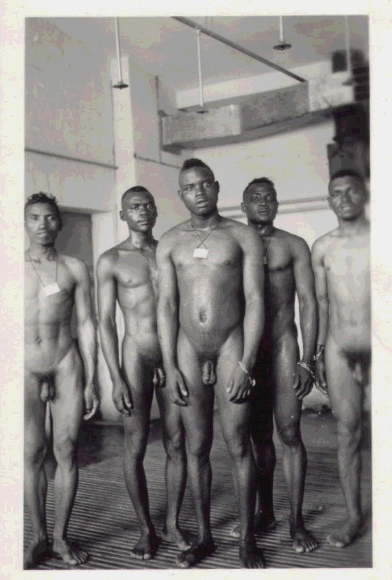 Vintage Nude Male Soldiers